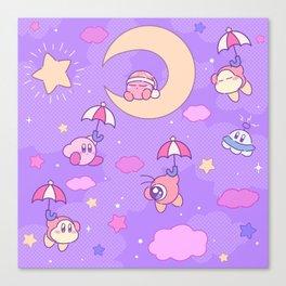 Kirby's Dream Land Canvas Print