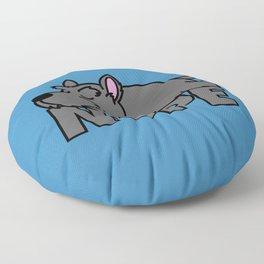 Scottish Terrier Floor Pillow