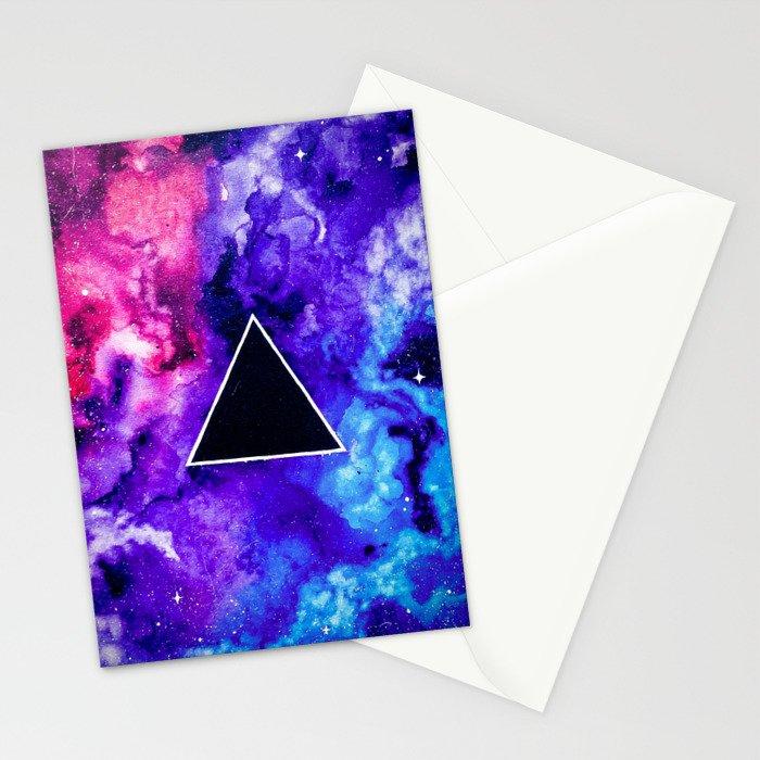 Black Hole Trinity Stationery Cards
