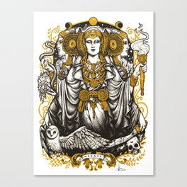 IBERIAN HECATE Canvas Print