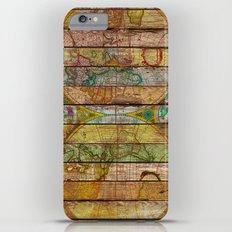 Around the World in Thirteen Maps Slim Case iPhone 6s Plus