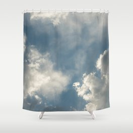 Summer Sky - Nature Photography Shower Curtain
