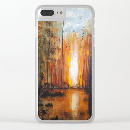 There's Fire Clear iPhone Case
