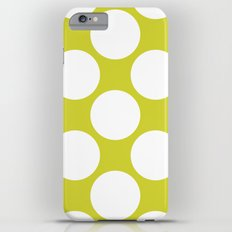 Polka Dots Green Slim Case iPhone 6 Plus