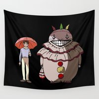 ahs Wall Tapestries featuring Twisty and Dandy by Huebucket