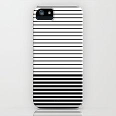 Lines - BW Slim Case iPhone (5, 5s)