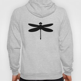 Bugs: abstract Dragonfly Hoody