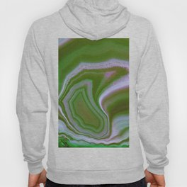 green colored agate Hoody