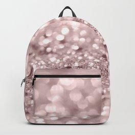 Sparkling Rose Gold Blush Glitter #1 #shiny #decor #art #society6 Backpack