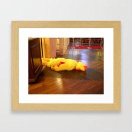 Cross the Road Framed Art Print