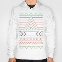 pyramid Hoodies featuring Pyramid  by elm the person