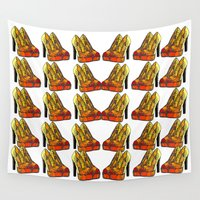 shoe Wall Tapestries featuring Shoe 3 by AstridJN