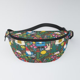 Gnome Home Fanny Pack