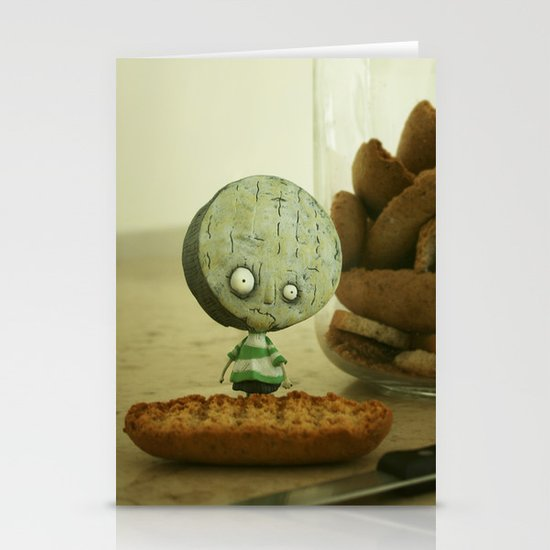 Brie Boy - Tim Burton Stationery Cards