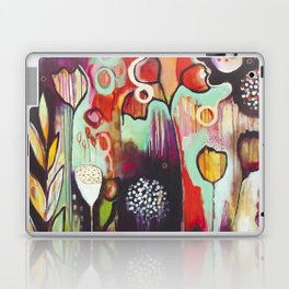 """""""Release Become"""" Original Painting by Flora Bowley Laptop & iPad Skin"""