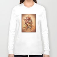 final fantasy Long Sleeve T-shirts featuring Final Fantasy IX by Dice