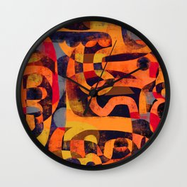MEANDERING Wall Clock