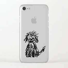 Doggy day Clear iPhone Case