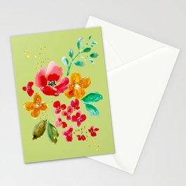 Poppy Bouquet Stationery Cards