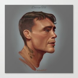 Darren Till Canvas Print
