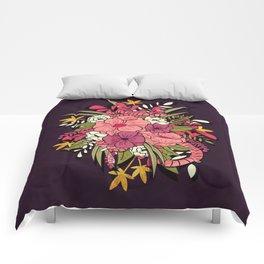 Jungle Bouquet 001 Comforters
