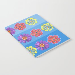 Stacks of Flowers Notebook
