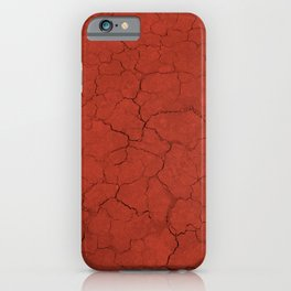 Walking on mars iPhone Case