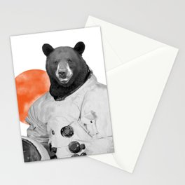 Mr. Space Bear Stationery Cards