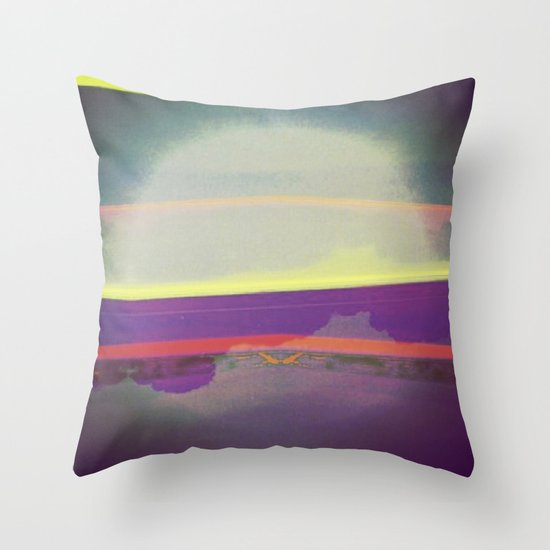 Signs in the Sky Collection - Falling Moon Throw Pillow