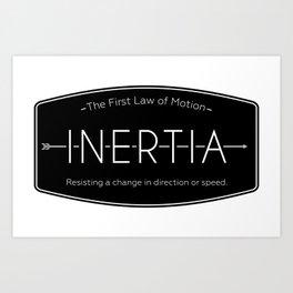 Inertia Logo Art Print