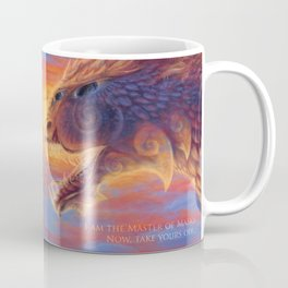 A Master of Masks Coffee Mug