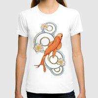 koi fish T-shirts featuring Koi Fish by Eleni Kakoullis
