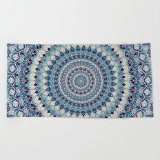 Mandala 587 Beach Towel