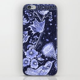 Violet Night Nature Scene iPhone Skin