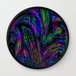 Freak Out Wall Clock