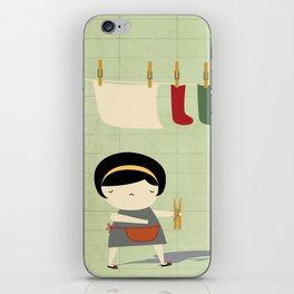 Busy iPhone Skin