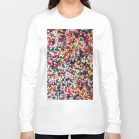 sprinkles Long Sleeve T-shirts featuring SPRINKLES by ThingsLikeStuff