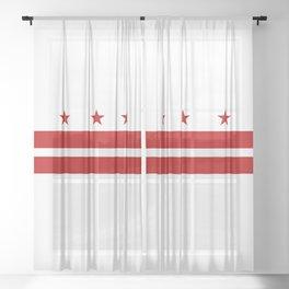 Washington DC Sheer Curtain