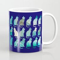 mineral Mugs featuring MINERAL CATTERN by Catspaws