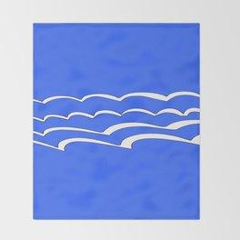 Mariniere marinière – new variations IV Throw Blanket
