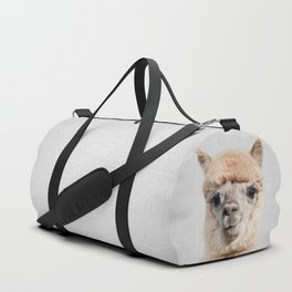 Alpaca - Colorful Duffle Bag