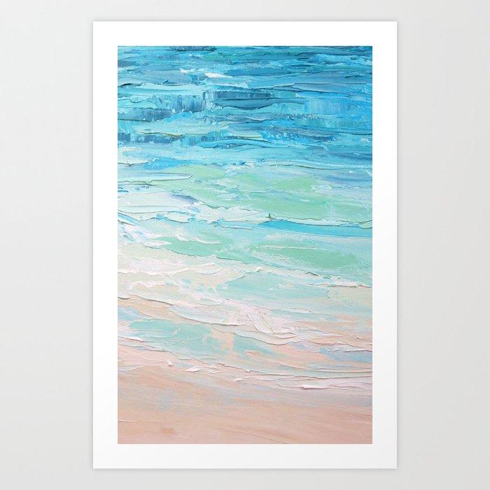 Orient Beach Art Print