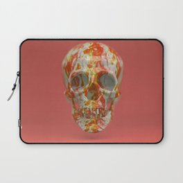 Red Candy Skull Laptop Sleeve
