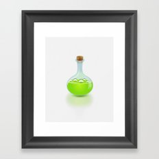 Secret Potion Framed Art Print