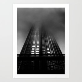 Downtown Toronto Fogfest No 11 Art Print