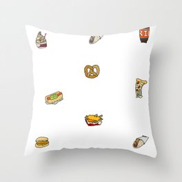 food court ii Throw Pillow