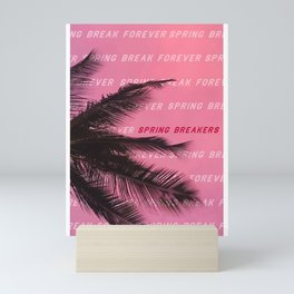 Spring Breaker Poster Mini Art Print