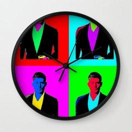 Jensen Ackles Pop Art Wall Clock
