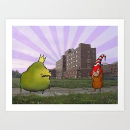 King for a Day Art Print