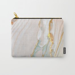 Blush Gold Alcohol Ink Abstract 1 Carry-All Pouch